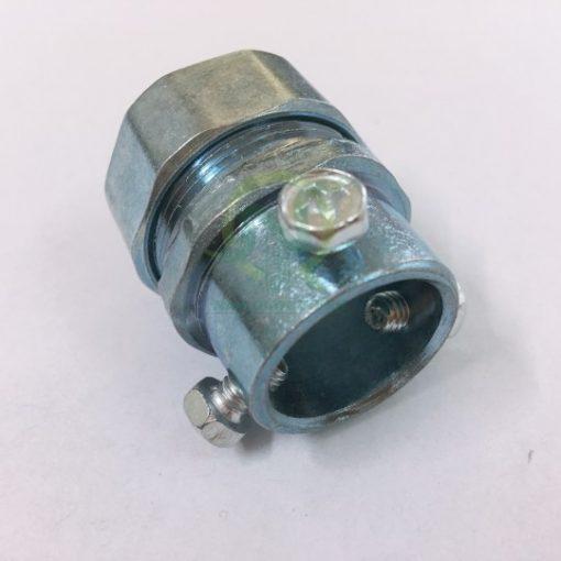 Đầu nối ống ruột gà với Ống thép trơn EMT NQT