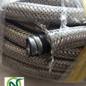 Ống Ruột Gà Lõi Thép Bọc Nhựa Bọc Lưới Inox