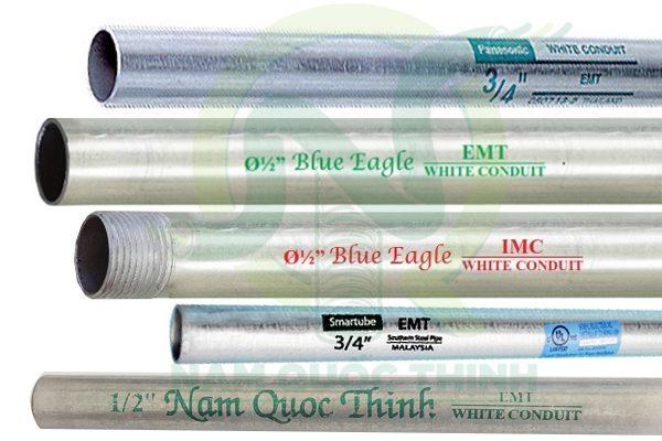 các loại ống thép luồn dây điện Nam Quốc Thịnh cung cấp