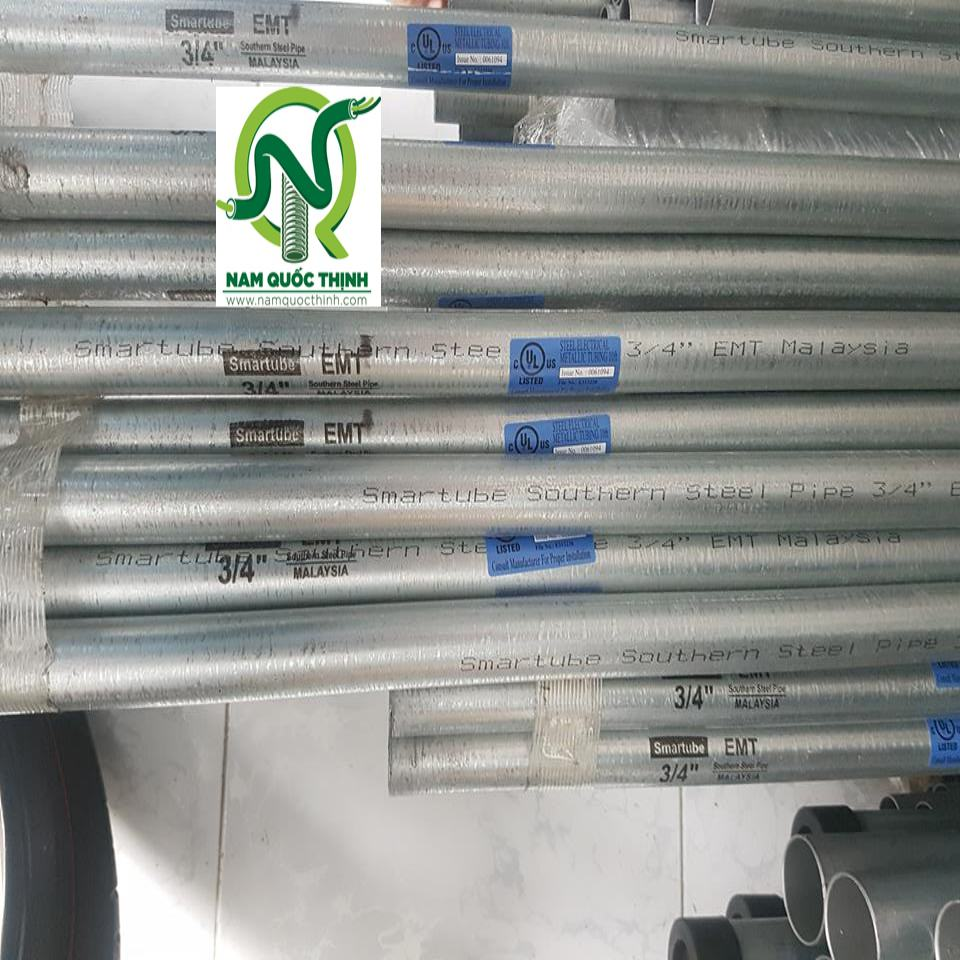 ống thép luồn dây điện EMT Smartube cao cấp