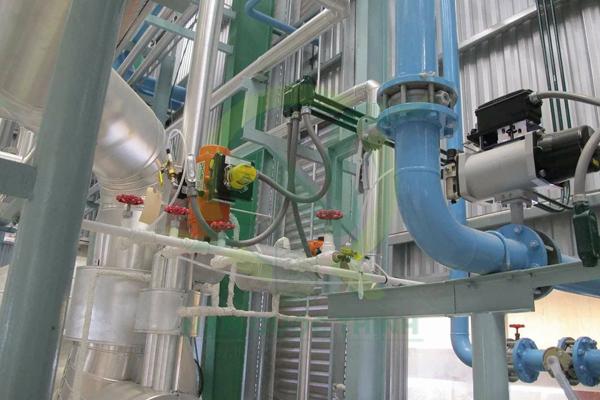 ống thép chống cháy nổ tại nhà máy