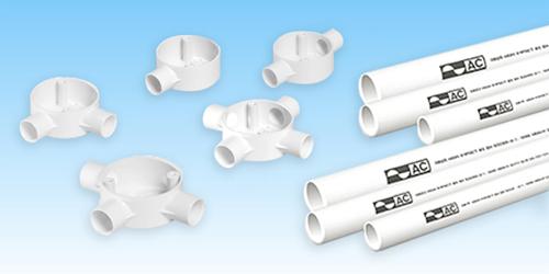 ống luồn dây điện pvc ac