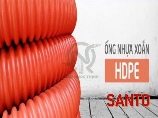 Cung cấp Ống Nhựa Xoắn HDPE Santo